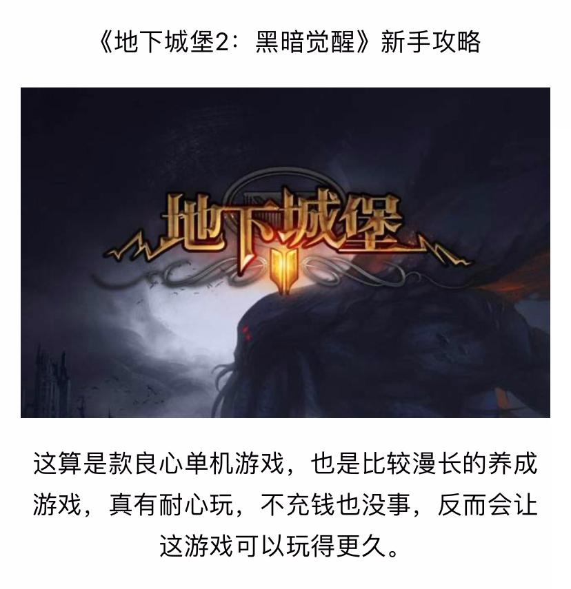 《地下城堡2:黑暗觉醒》新手攻略_01.jpg